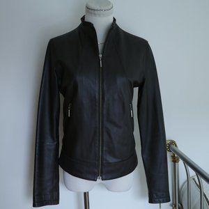 MISS TOP GUN American Leather Racer Pinup Jacket